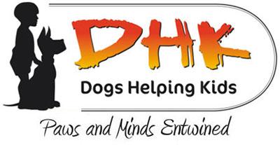 DHK-Dogs Helping Kids logo