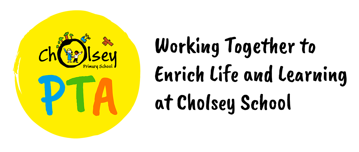 Cholsey PTA logo and strapline