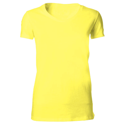 Yellow Iddmead House PE t-shirt